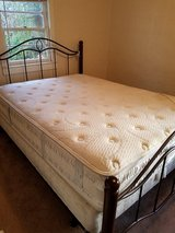 Queen Mattress w/ box spring in Cherry Point, North Carolina