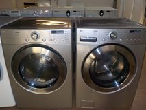 LG TROMM FRONT-LOAD WASHER & DRYER in Fort Bragg, North Carolina