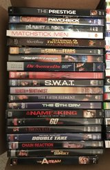20 DVDs Action Movies in Houston, Texas