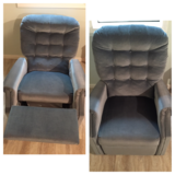 Blue Recliner Chair in Chicago, Illinois