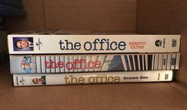 The Office Season 1-3 DVD's in Kingwood, Texas