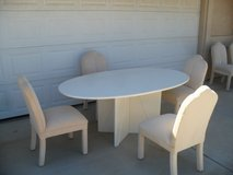 ***  Italian Dinning Table + Chairs  *** in Yucca Valley, California