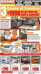 3 Roomz of Furniture for $69 Bucks! in Camp Lejeune, North Carolina