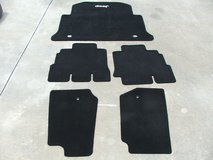 2011-17 Jeep Wrangler Unlimited 4dr floor mats like new in Cherry Point, North Carolina