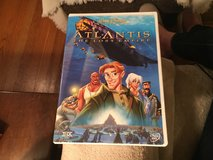 Atlantis The Lost Empire DVD in Naperville, Illinois