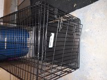 Dog crate in Aurora, Illinois