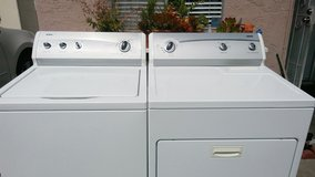KENMORE 600 SERIES WASHER AND GAS DRYER SET LIKE NEW in Camp Pendleton, California