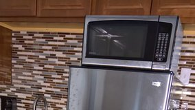 Stainless Microwave in Camp Lejeune, North Carolina