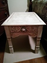 Distressed end table or nightstand in Fort Campbell, Kentucky
