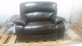 Ashley oversized leather recliner in Wilmington, North Carolina