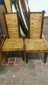 new pair bamboo chairs in Wilmington, North Carolina