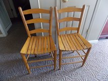 2 Ladder Back Chairs in Fort Campbell, Kentucky