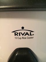 Rival 10 Cup Rice Cooker in bookoo, US