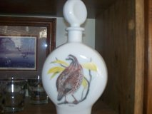 1969 Birds of the field Decanter  glaSS  BOB O LINK  canada in Morris, Illinois