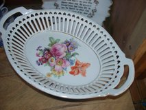 Serving dish made in Germany  Delicate china  detailed in Morris, Illinois