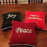 3 Christmas Pillows in Spangdahlem, Germany