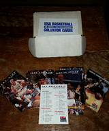 USA Collector cards 1992 Dream Team - Jordon, Pippen, Bird, Etc. Set of 110 Cards MINT in Wiesbaden, GE