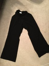 Maternity Black pants-full panel in Joliet, Illinois