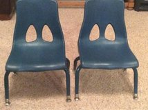 2 stacking children's chairs in Houston, Texas