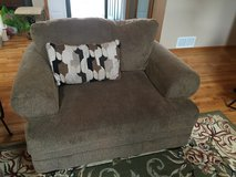 2 piece set, Chair and a half and Sofa in Naperville, Illinois