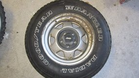 Jeep Tire and Wheel in Camp Lejeune, North Carolina