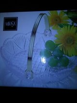 MiCasa Glass Easter Basket Candy Dish in Fort Riley, Kansas