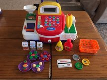 Children's cash register and accessories in Houston, Texas