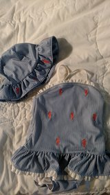 Gymboree swimsuit and hat sz 18 mo in Houston, Texas