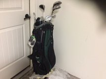 Golf clubs and bag in Houston, Texas