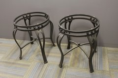2 Side Tables (no glass) in Houston, Texas