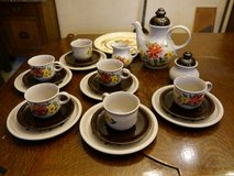 Porcelain service for 6 persons in Baumholder, GE