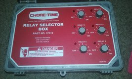 Chore-Time Relay Selector box in Cherry Point, North Carolina