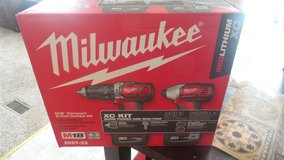 Milwaukee  impact  drill kit in Warner Robins, Georgia