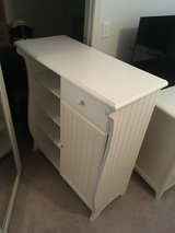 White bedroom dresser/storage cabinet in Belleville, Illinois