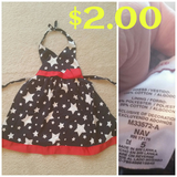 Sz.5 Stars Halter dress in Joliet, Illinois