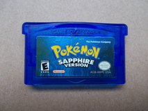 "Pokemon Game "" Sapphire"" Version for Gameboy in bookoo, US"