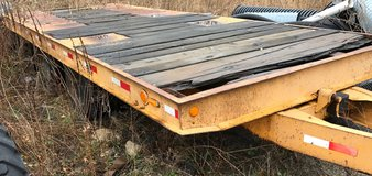 1978 Miller 20,000lb Flat Bed Trailer in Lockport, Illinois