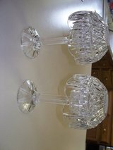 Pair crystal candle lamps  12 in high  gorgeous in Morris, Illinois