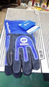 new Miller welding gloves in 29 Palms, California