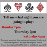 Poker Players - Texas Hold'em in Camp Lejeune, North Carolina