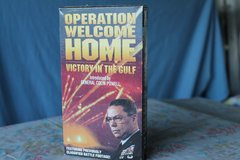 VHS: OPERATION WELCOME HOME in 29 Palms, California