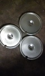 Stainless Steal Lids (3) in Alamogordo, New Mexico