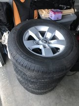Stock Dodge Truck Rims in Sacramento, California