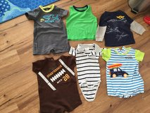 18/24 mt boy summer clothes lot,like new in Ramstein, Germany