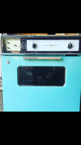 Retro Working GE oven in Tinker AFB, Oklahoma