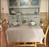 Solid Maple Dining Table and 6 Chairs in Tinker AFB, Oklahoma