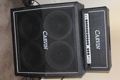 Carvin SX-200 half stack w/ 4X12 cab in Temecula, California
