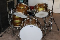 Revelle (Pearl) Vintage Drum Set - Made in Japan in Camp Pendleton, California