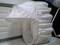 bassinet with reversible ribbon in Fort Knox, Kentucky