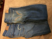 American eagle/ hollister jeans (2 pairs) in Naperville, Illinois